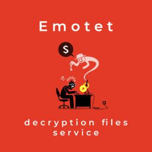 Emotet decryption files service